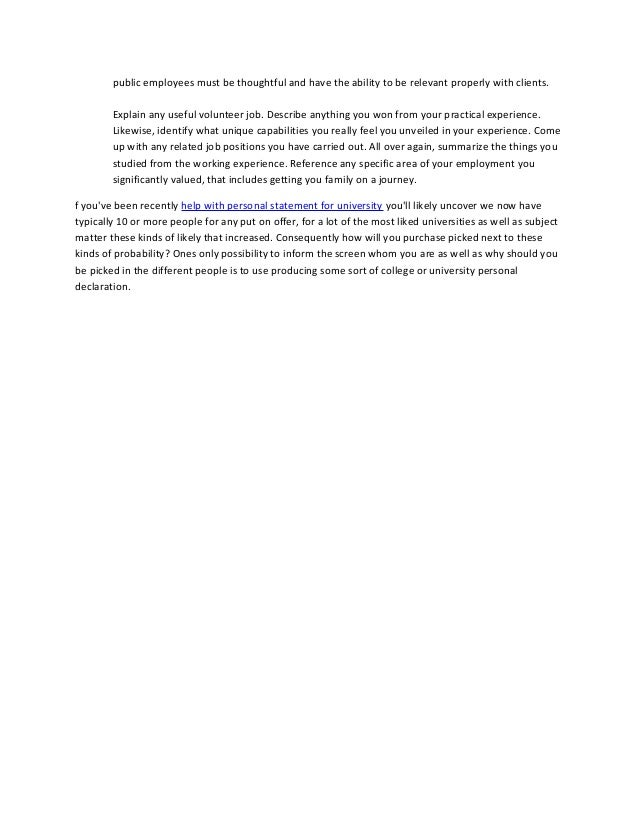 help me write my personal statement