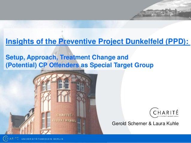 Gerold Scherner: Insights of the Preventive Project Dunkelfeld