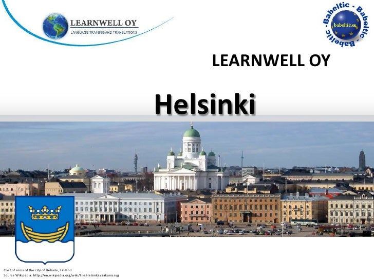 LEARNWELL OY                                                                           HelsinkiCoat of arms of the city of...