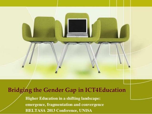 Bridge The Gap Education Bridging Gender Gap in
