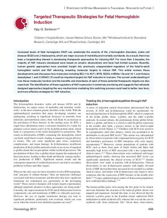 Hematology 2011-sankaran-459-65