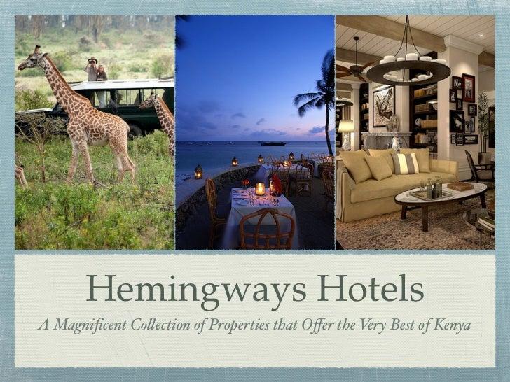 Hemingways Hotels - KTB