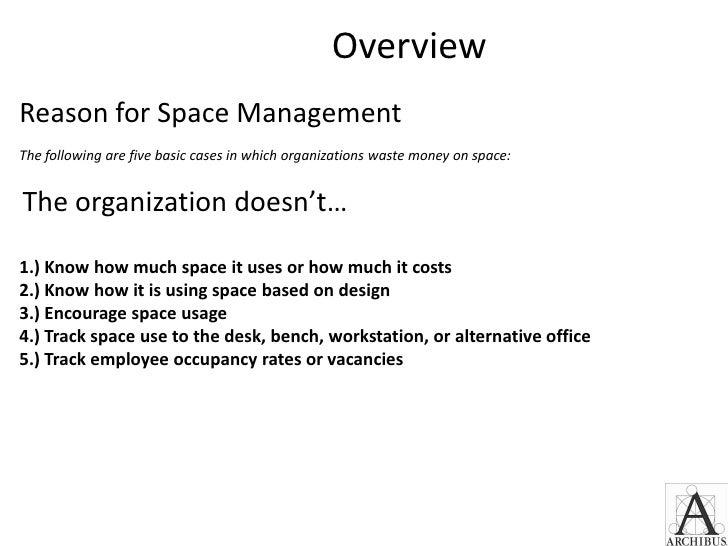 Space Management Overview - HEMIS