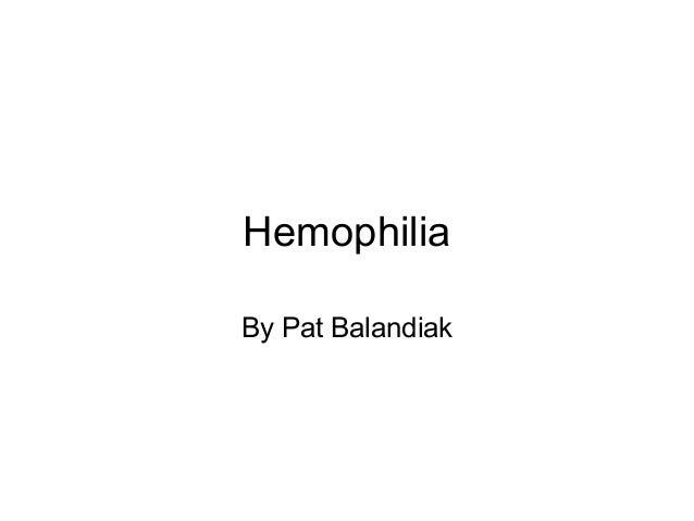 Hemophilia 1