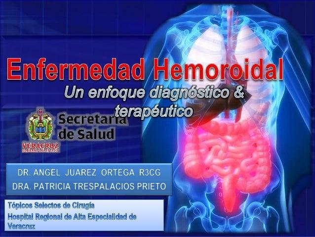 Rev Venez Cir Vol. 59- N°2- 2006 • Conjunto de signos y síntomas atribuibles a la dilatación e ingurgitación del T. Hemorr...