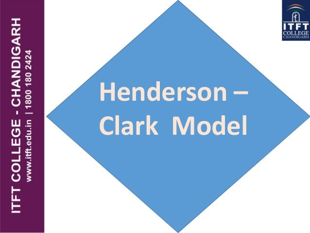 Henderson – Clark Model