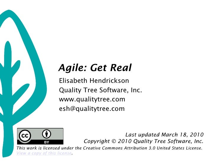 Agile: Get Real                                            Agile: Get Real                                         Elisabe...