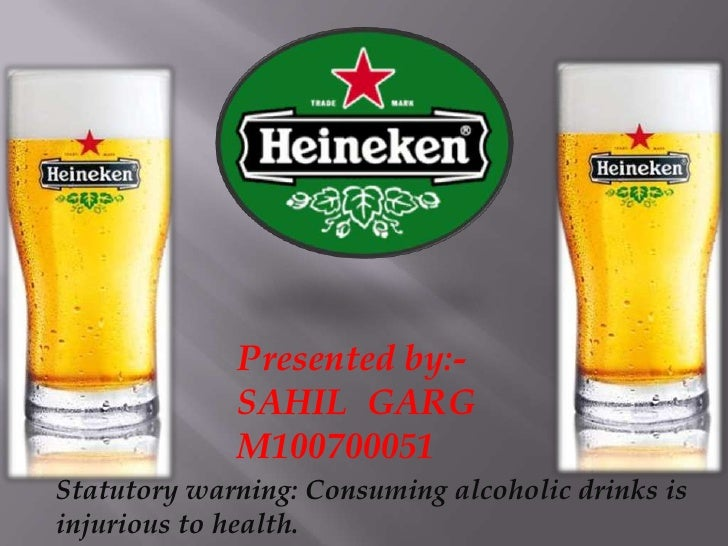 Presented by:-<br />SAHIL  GARG<br />M100700051<br />Statutory warning: Consuming alcoholic drinks is injurious to health....
