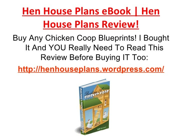 Hen House Plans Review