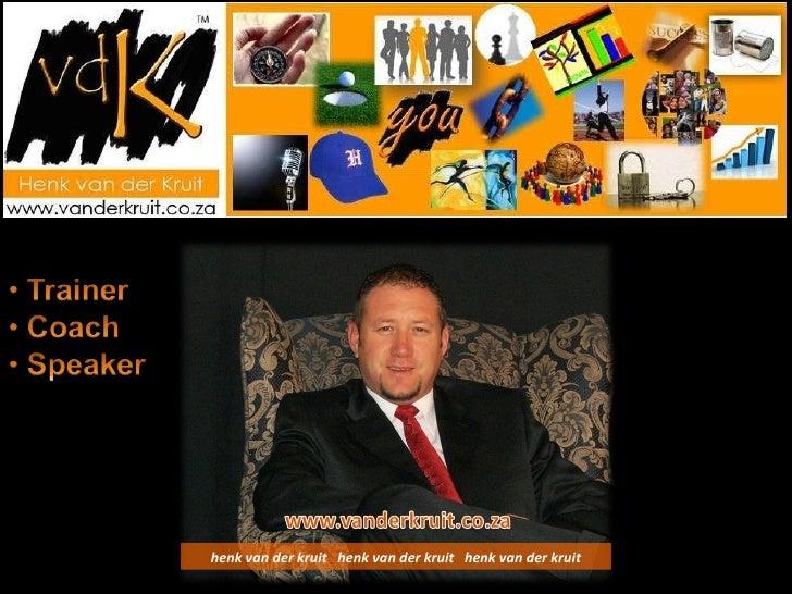 Henk Van Der Kruit