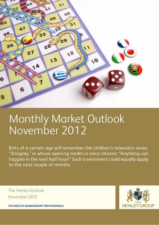Henley November Outlook 2012