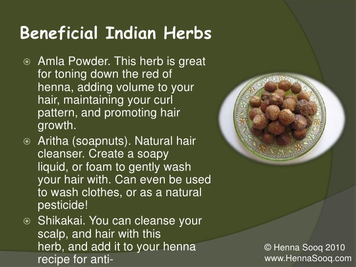 Benefits Of Using Henna On Natural Hair