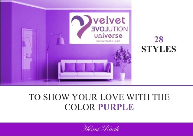 28 styles to show your love with the color purple - Show me the color lavender ...
