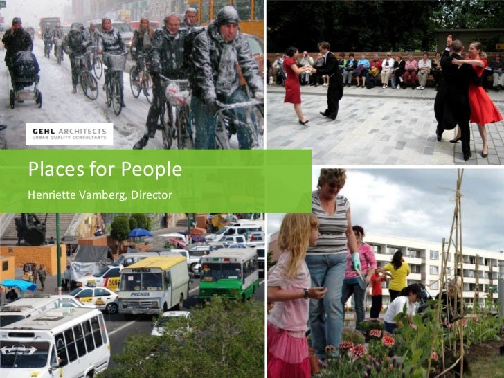 Places for PeopleHenriette Vamberg, Director