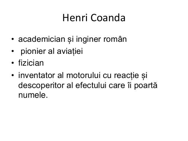 Henri Coanda, pionier al aviatiei