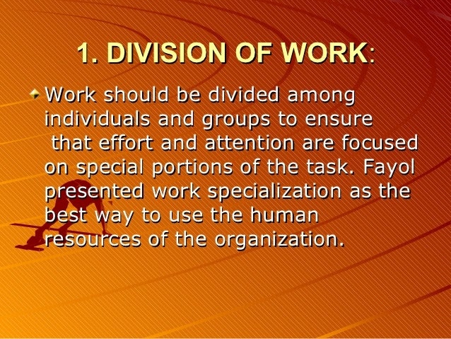 the advantages and the disadvantages of henri fayol principles