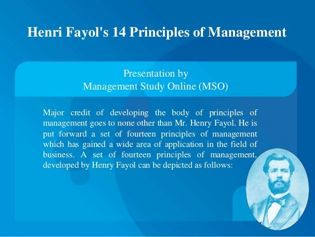 henry fayol contribution in management Henri fayol was real father of modern management henri fayol is the french  industrialist in 1841-1925 he was a mining engineer in.