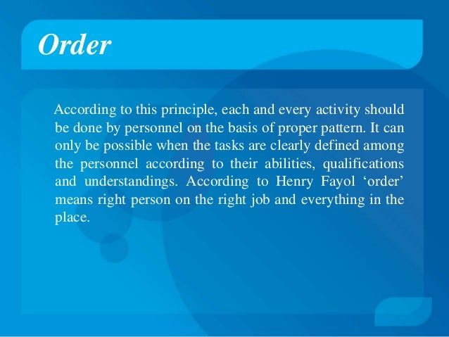 fayol 14 principle of management