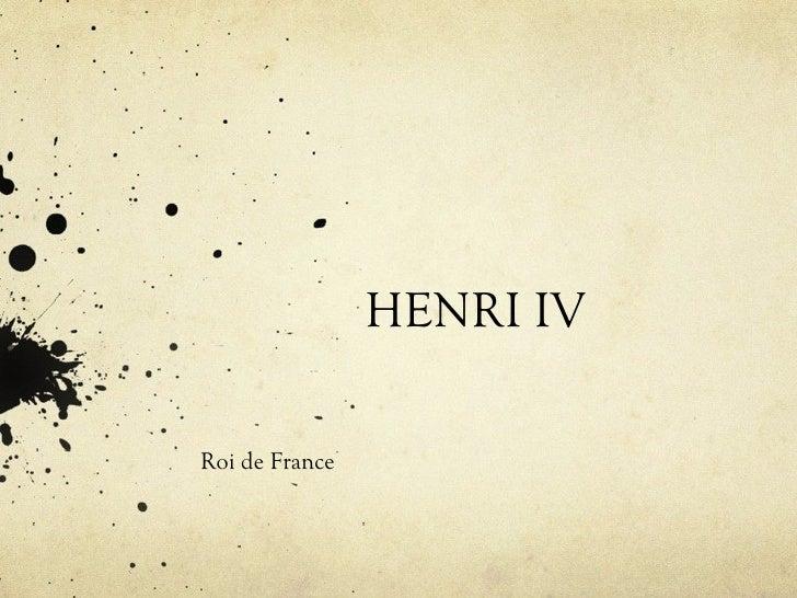 Henri iv maialen joane