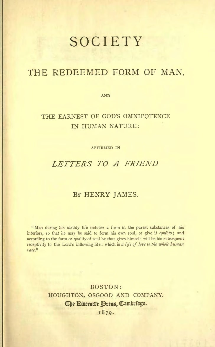 SOCIETYTHE REDEEMED FORM OF MAN,                     MAN,                             GODS O~IXlPOTEXCE              THE E...