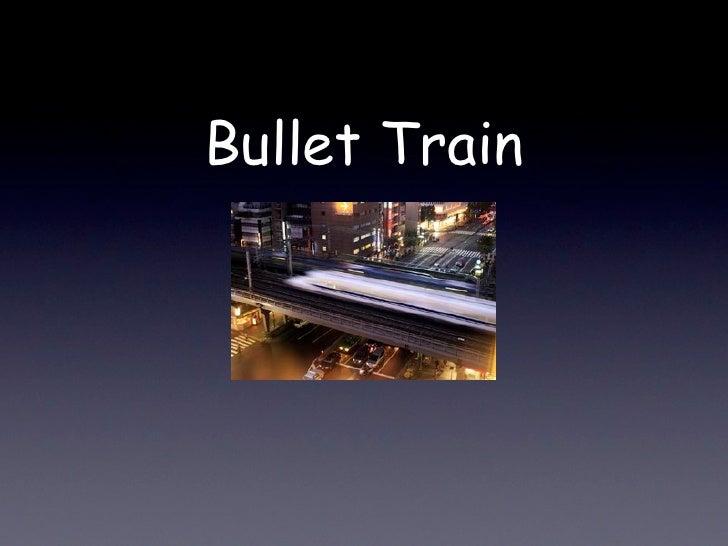 Henry  Bullet Train  Keynote