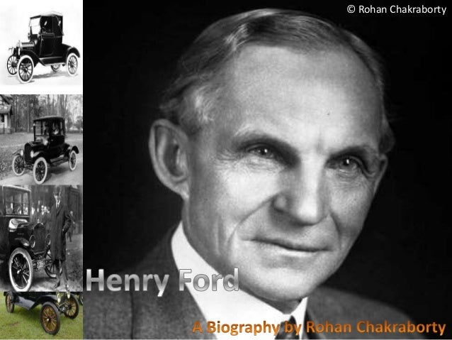 Autobiography of Henry Ford