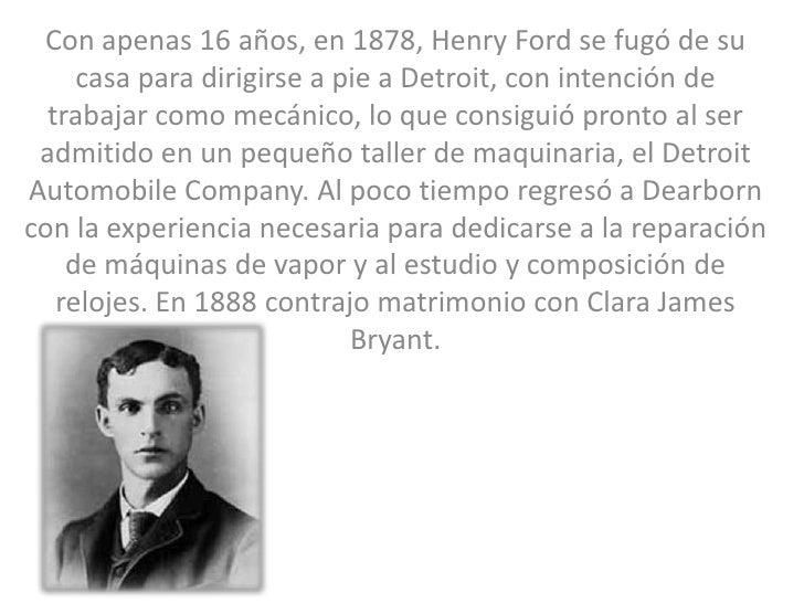 henry ford casos exitosos