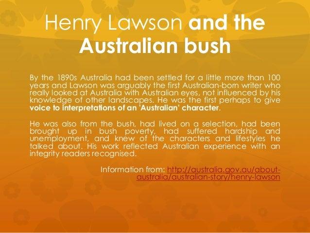 Henry Lawson bush quotes