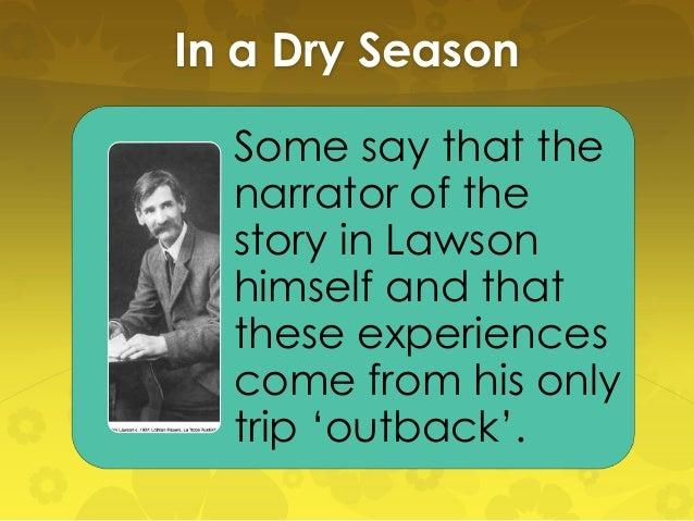 in a dry season henry lawson