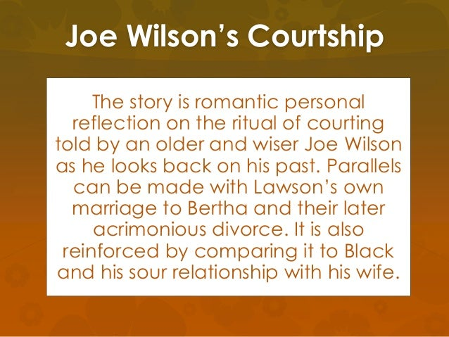 Henry Lawson joe wilson courtship