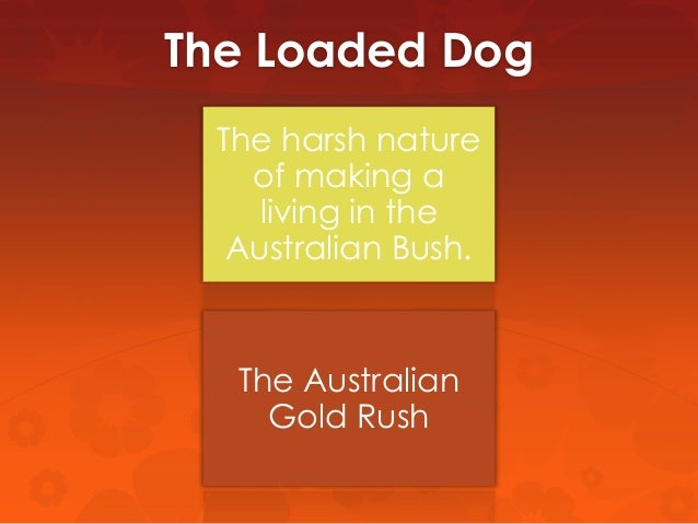 Henry Lawson loaded dog analysis