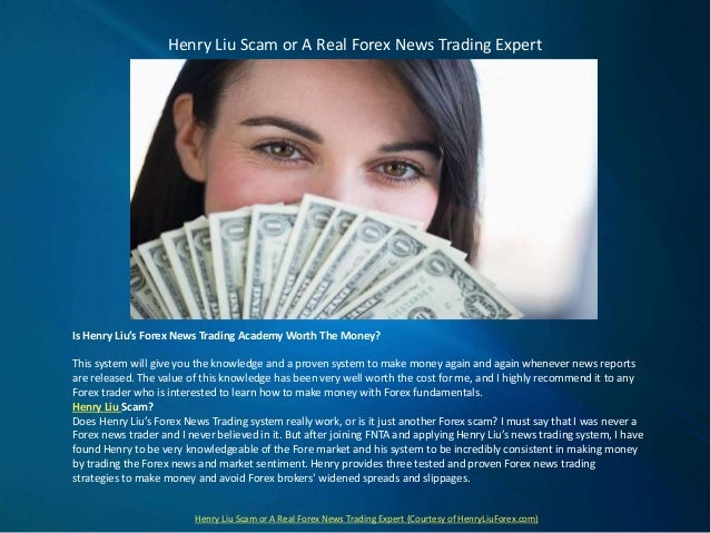 Henry liu forex trader