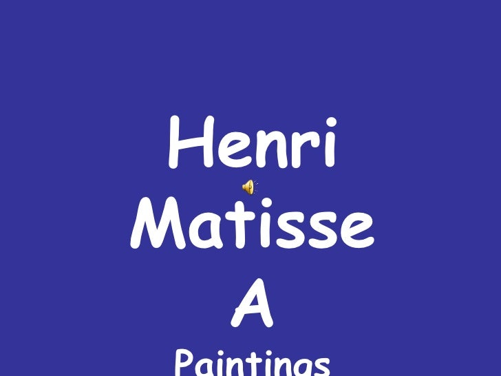 Henry Matisse (2)