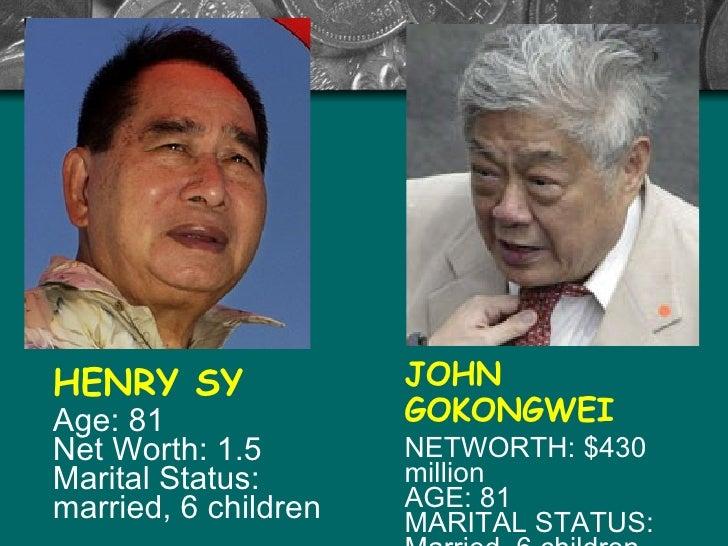 swot analysis of henry sy and john gokongwei