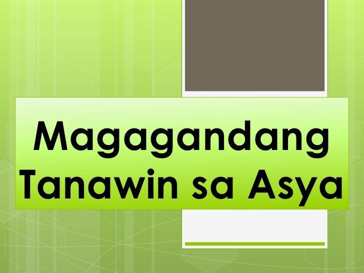 MagagandangTanawin sa Asya