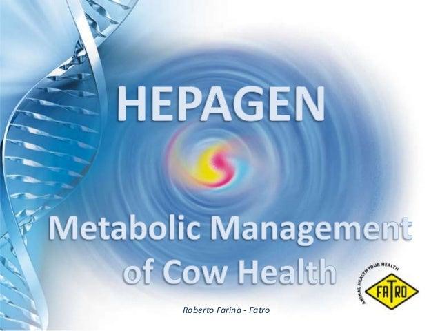 Hepagen - Metabolic Management of Cow Health