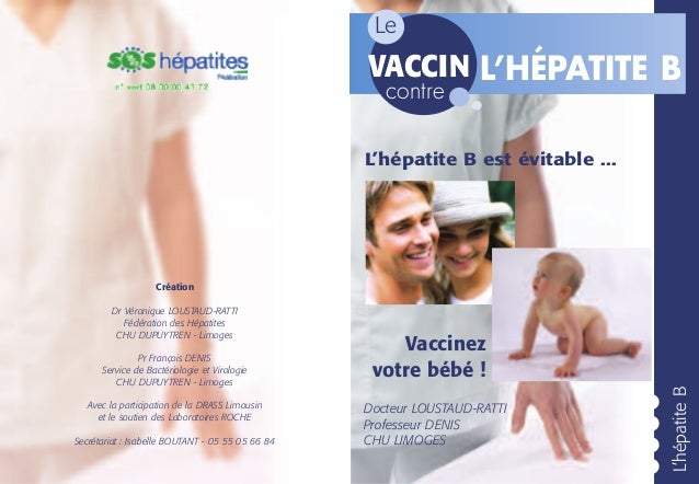 Le                                                  VACCIN L'HÉPATITE B                                                   ...