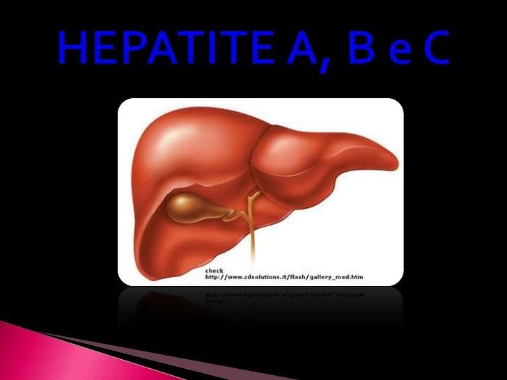 Hepatite a, b e c