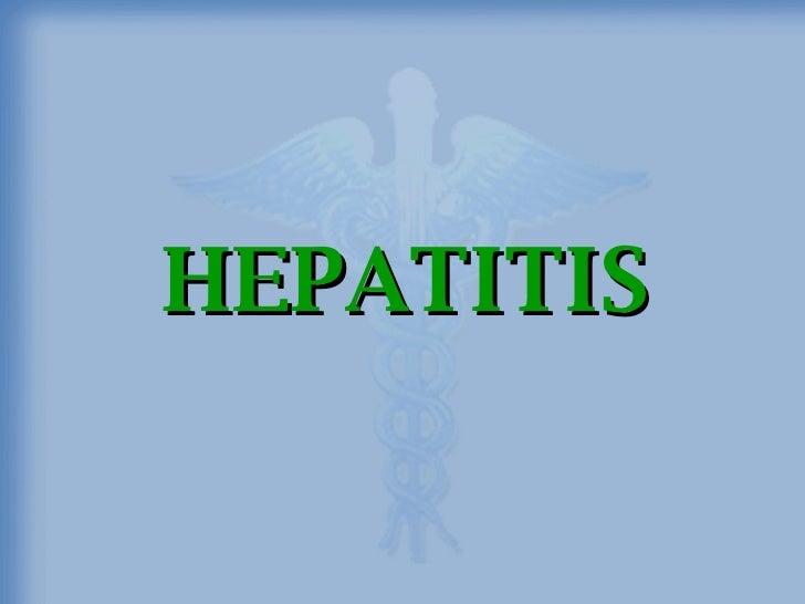 Hepatitis Final
