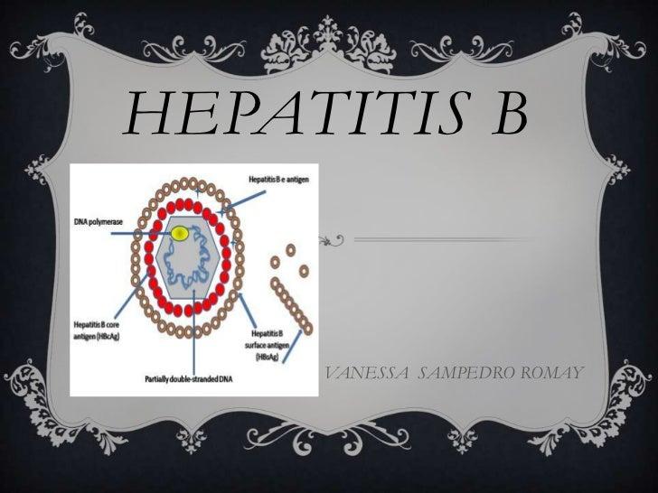HEPATITIS B     VANESSA SAMPEDRO ROMAY