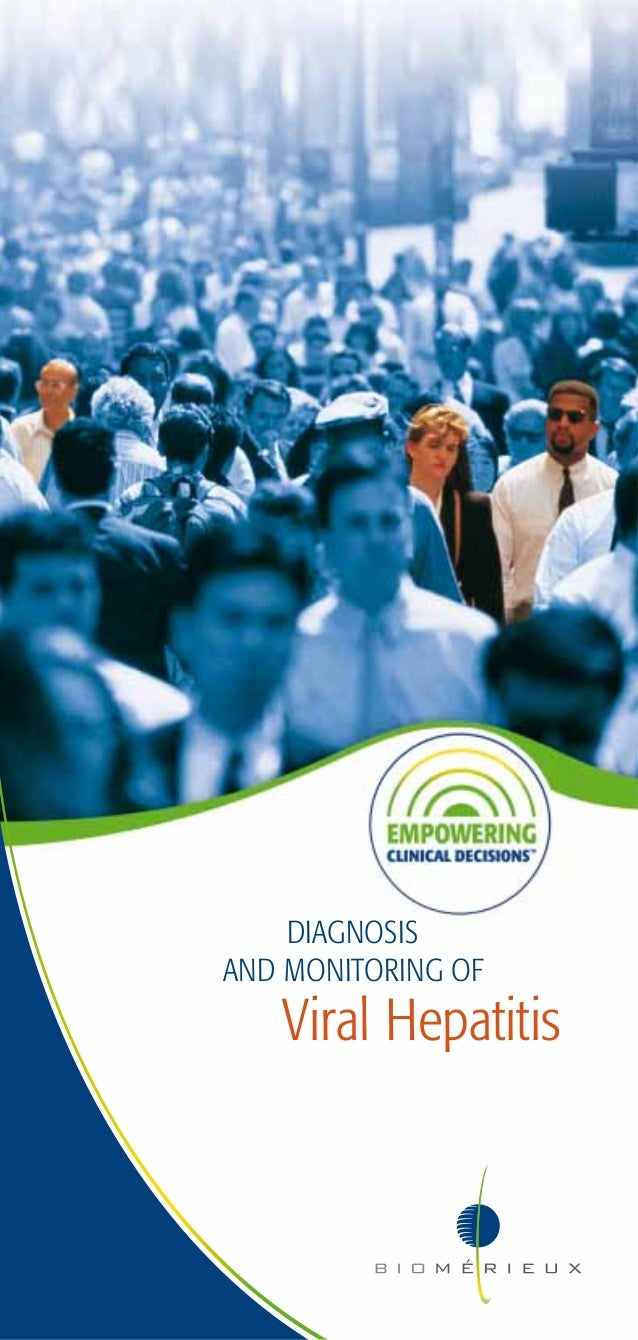 DIAGNOSISAND MONITORING OF   Viral Hepatitis