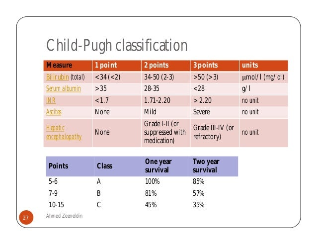 Child Pugh Score