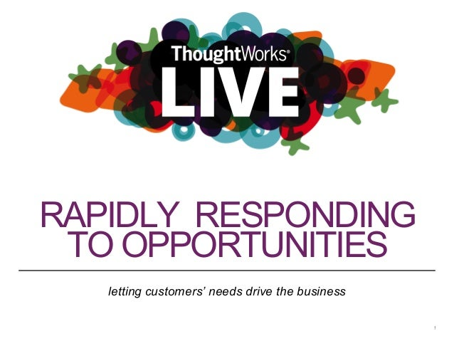ThoughtWorks Live - London 2014: Hepsiburada - A responsive business model to meet customer needs