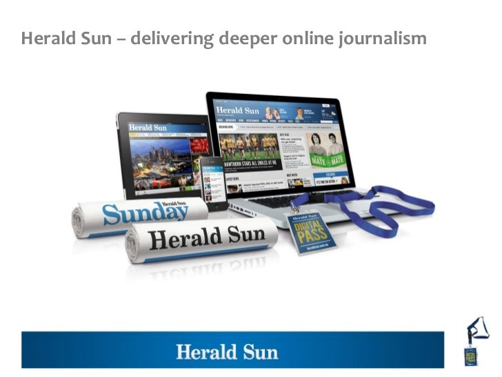 Herald Sun – delivering deeper online journalism
