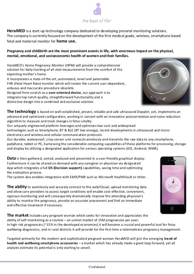 Hera med: one pager for Jerusalem Post mHealth Article- 10-31-2013