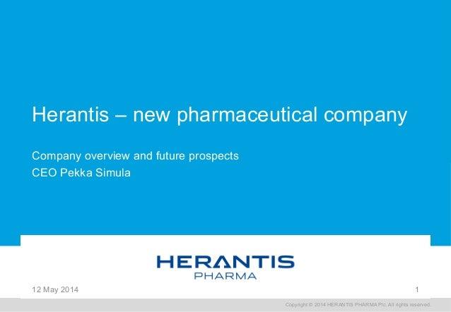 Herantis Pharma - A new pharmaceutical company