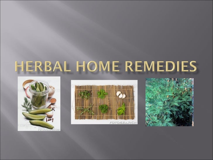 Herbal Home Remedies97