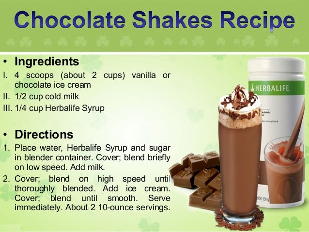 Herbalife weight loss shakes recipes / Raw meal replacement shakes