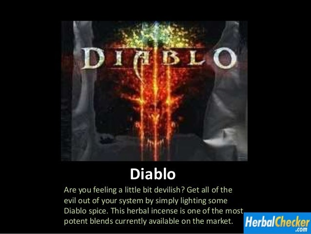 Caution Diablo Herbal Incense (10G) | Fine Herbal Incense