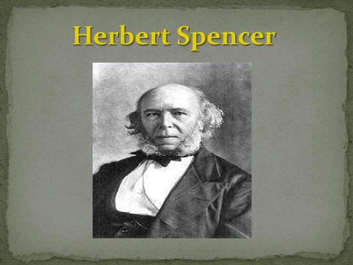 It cannot but happen that those will sur by herbert spencer like success - Gevels herbergt fotos ...